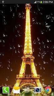 巴黎雨滴免費動態桌布 FREE PRO