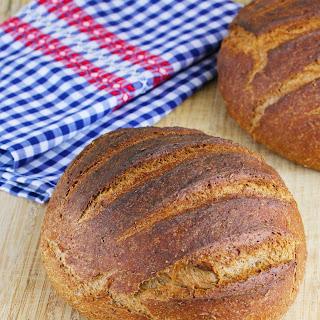 Medium Dark Rye Bread.