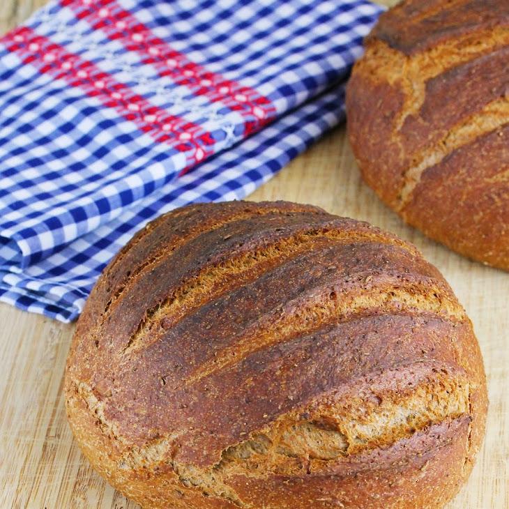 Medium Dark Rye Bread