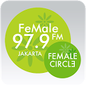 FeMale Radio icon