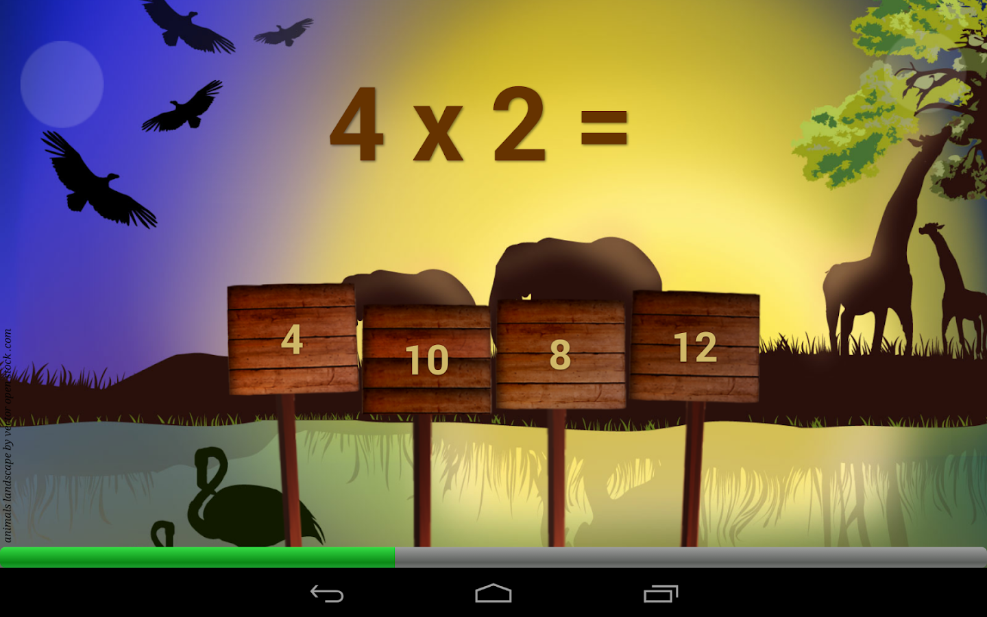 Times tables game free android apps on google play times tables game free screenshot gamestrikefo Images