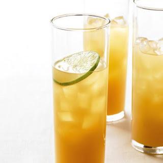 Pineapple-Rum Cocktail.