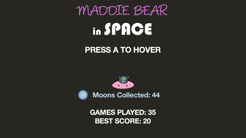 Maddie Bear in Space (TV)- screenshot