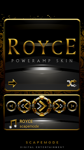 Poweramp Widget ROYCE