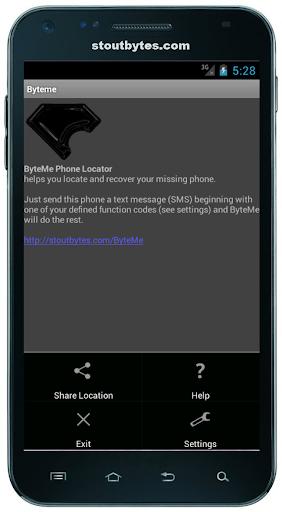 【免費工具App】ByteMe Phone Locator-APP點子