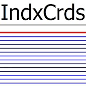 Index Cards IndxCrds