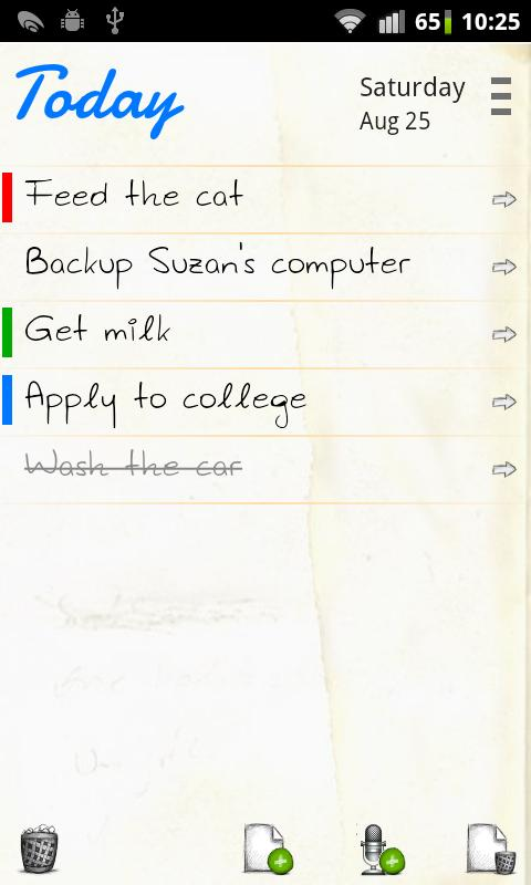 Maniana To Do List | Task List - screenshot