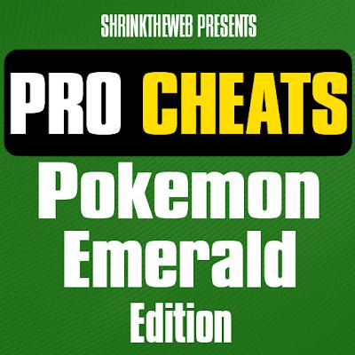 Pro Cheats Pokemon Emerald Edn