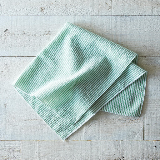Seersucker Cloth Napkins (Set of 4)