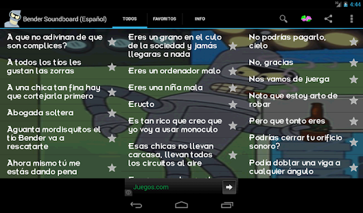 Bender Soundboard (Español) - screenshot thumbnail