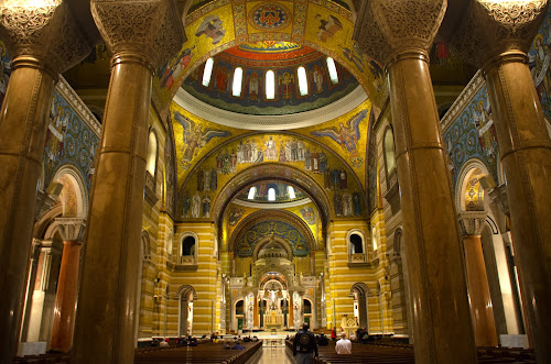 basilica by Jody Jedlicka - Buildings & Architecture Places of Worship ( st louis, catholic, gothic, church, basilica )