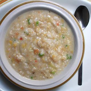 Multi-Grain Congee (Chinese Rice Porridge).