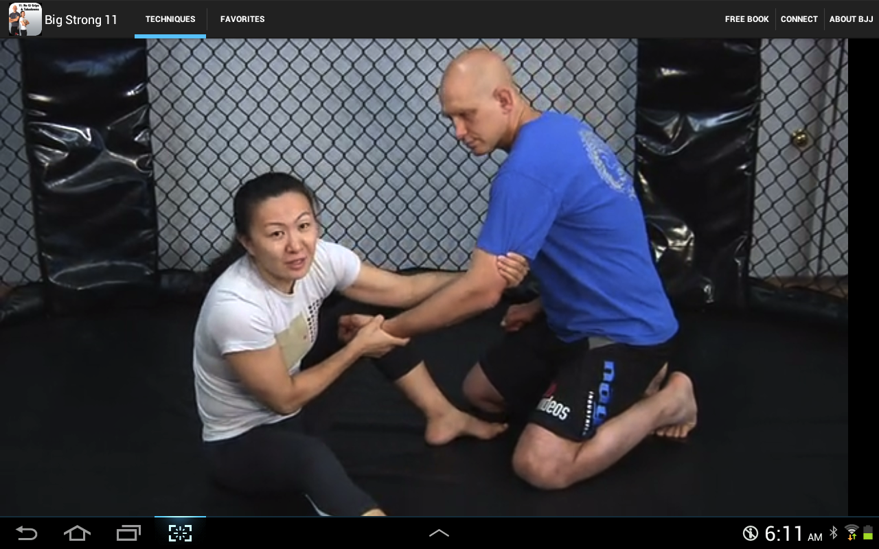 BigStrong 11, No Gi Takedowns- screenshot