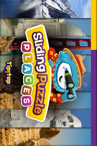 Places Puzzle: Sliding Slices