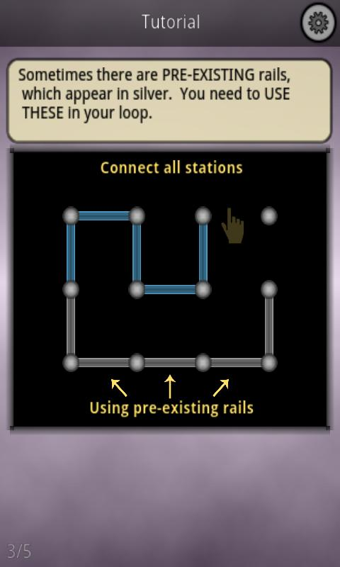 Monorail Logic Puzzles- screenshot