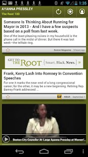 Ayanna Pressley: The Root 100 - screenshot thumbnail