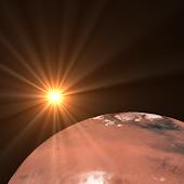Mars Clock Widget