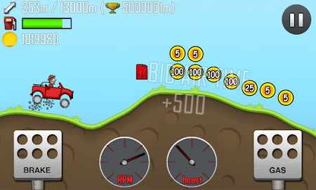 Most addictive and entertaining physics based driving game: Hill Climb Racing