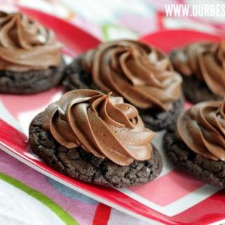 Chocolate Marshmallow Cookies.