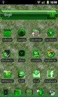 Screenshot of ADWTheme GreenIce