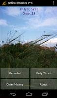 Screenshot of Sefirat Haomer Pro
