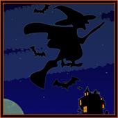 GO SMS Pro Halloween Witch