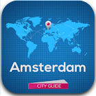 Amsterdam Guide Weather Hotels icon