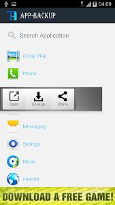 AppBackup screenshot 1