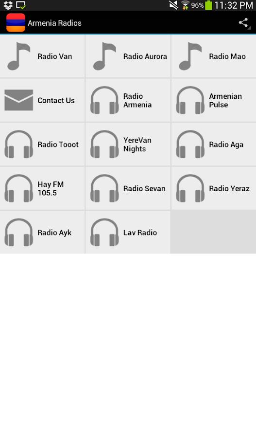Armenia Radios - screenshot