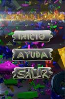 Screenshot of sopa de letras