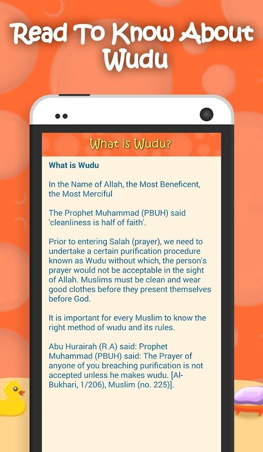Kids Wudu Series -  Muslim App- screenshot