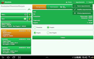 Screenshot of Clinic On Go - My Patients