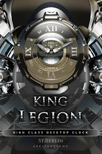 clock widget LEGION