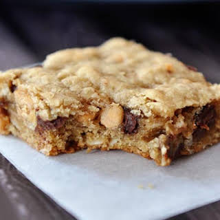Oatmeal Peanut Butter Chocolate Chip Bars.