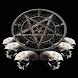 Skulls Symbol  Live Wallpaper