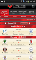 Screenshot of Arabian Gulf League