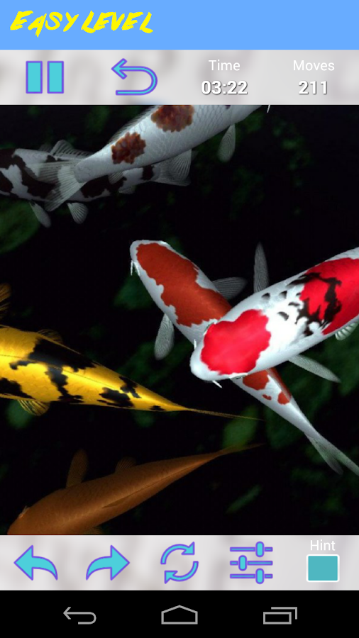 Koi Jigsaw Puzzle- screenshot