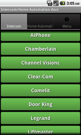 Intercom Home Automation Docs