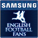 Samsung English Football Fans logo