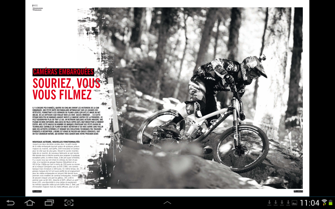Big Bike Magazine- screenshot