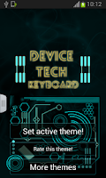 Screenshot of Device Tech Theme