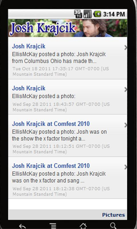 Josh Krajcik!- screenshot