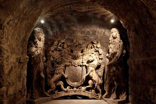 christ-church-dublin-ireland - The oldest known secular carvings in Ireland in the Christ Church Crypt in Dublin.