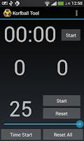 Screenshot of Korfball Tool