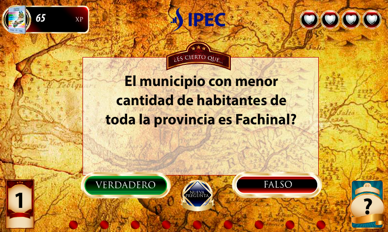 Gran Atlas de Misiones Juego - screenshot
