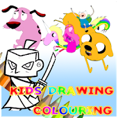 Kids Drawing and Colouring