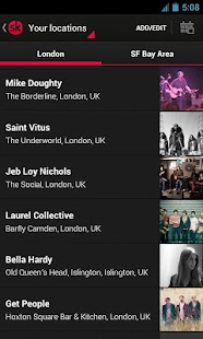 Songkick Concerts- screenshot thumbnail