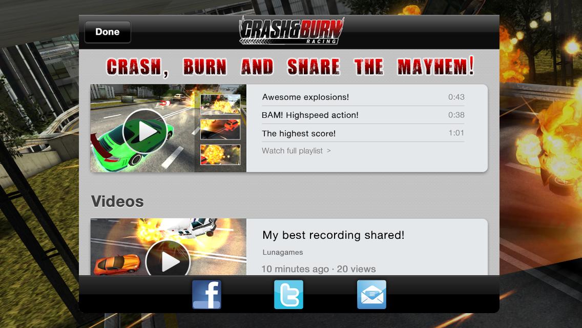 Crash and Burn Racing screenshot #3