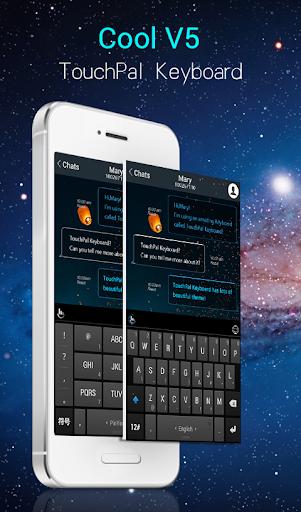Cool V5 Emoji Keyboard Theme