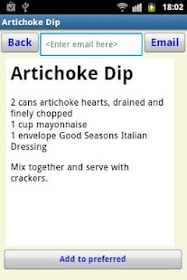 Tasty Food Recipes- screenshot thumbnail